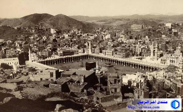 صورة الحرم الشريف 1917