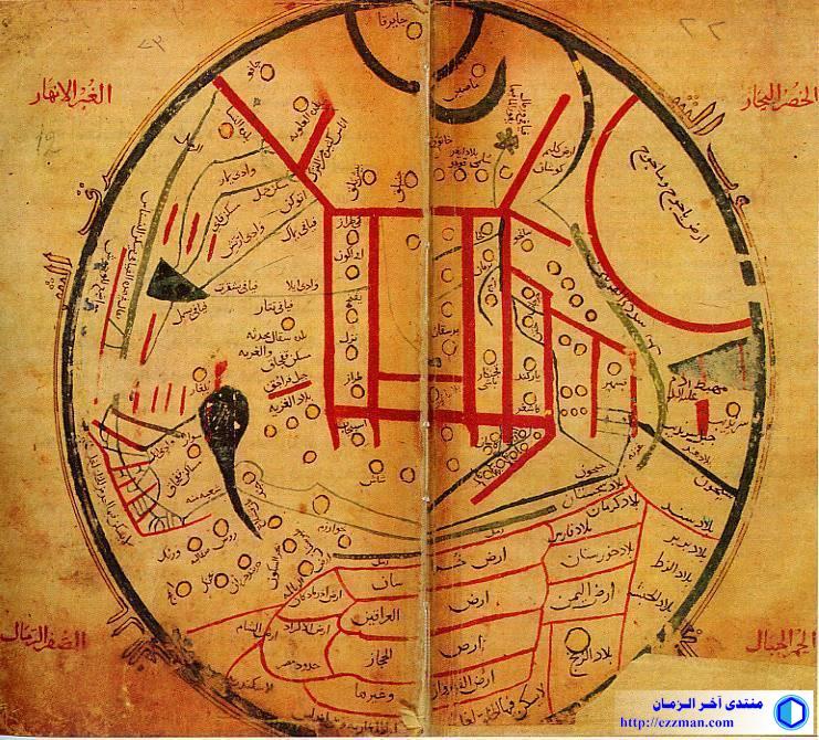 خريطة قديمة لقبائل الترك