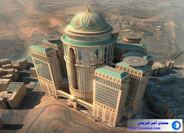 إنشاء أكبر فندق وقبة بالعالم