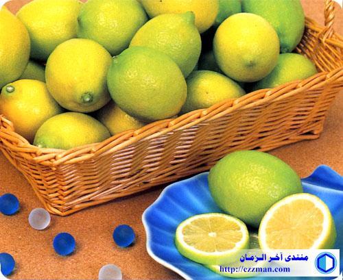 استخدامات الحامض (عصير الليمون)