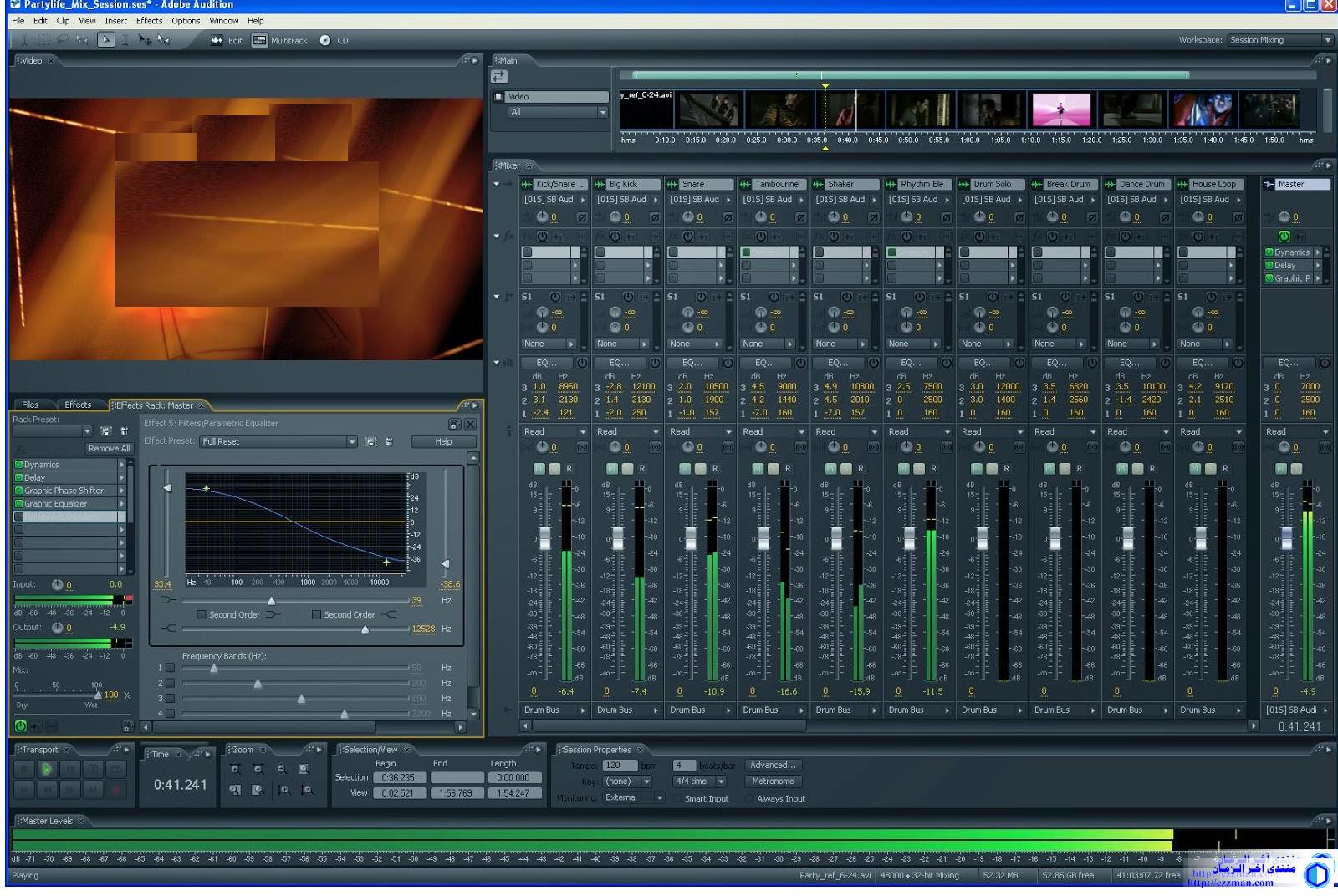 برنامج الهندسة الصوتية[Adobe Audition CS6]