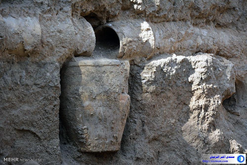نظام القنوات القديمة بروجرد بايران