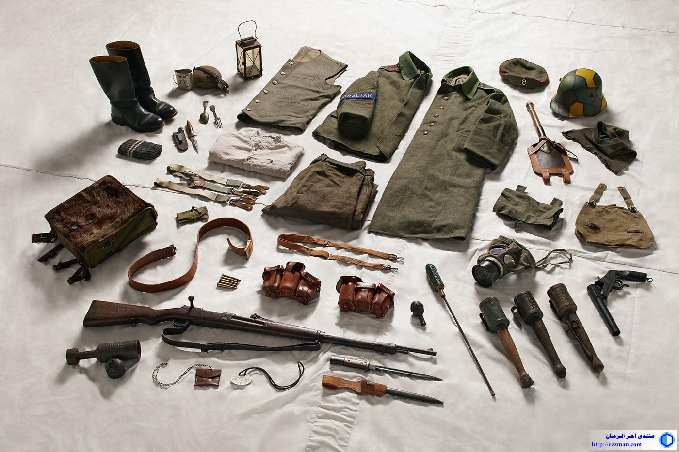 صور: ملابس وتجهيزات الجنود التاريخ