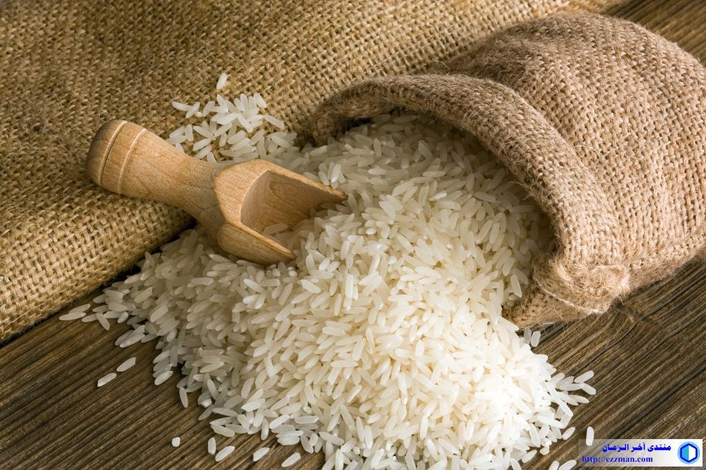 تخزين الأرز