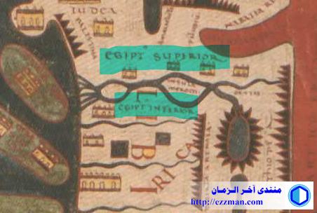 خريطة العالم لبيتوليبانا Beatus